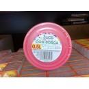 Plastová dóza, šroubovací uzávěr, 0,5 litru, balení 3 ks